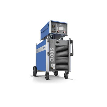 MIG-MAG welding power supply / mobile / with 4-roll wire feeder / three-phase