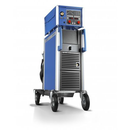 spot welding power supply / MIG-MAG / automated / with 4-roll wire feeder