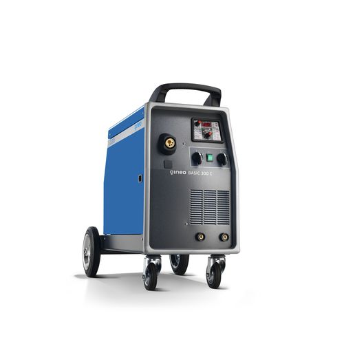 MIG-MAG welding power supply / portable / with wire feeder / three-phase