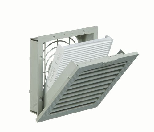 wall-mounted fan / for electrical cabinets / axial / exhaust