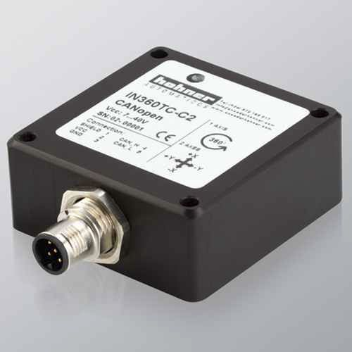 2-axis inclinometer