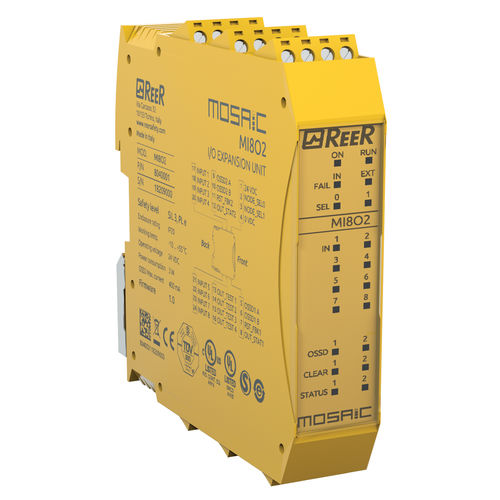 8 digital inputs I/O module