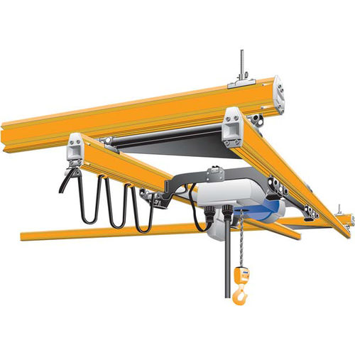 double-girder overhead traveling crane / low headroom / hanging