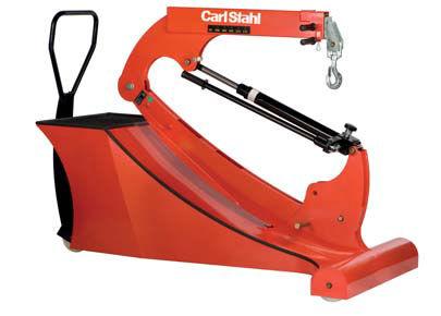 hydraulic workshop crane / folding