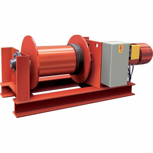 electric winch / lifting / rugged / explosion-proof