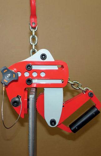 sheet metal lifting clamp / vertical