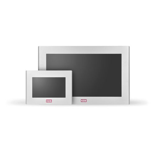 HMI with touch screen / wall-mount / control / visualization