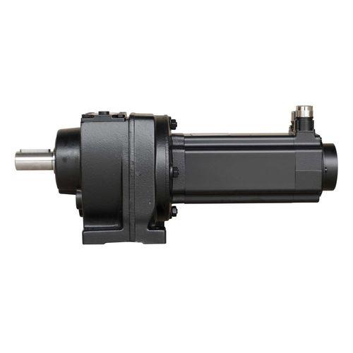 AC servo-gearmotor / helical / parallel-shaft