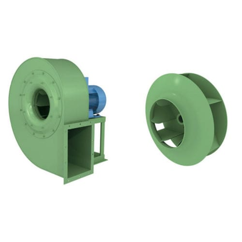 centrifugal fan / suction / direct-drive / medium-pressure