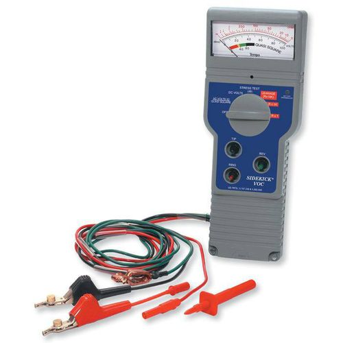 low-voltage cable tester / resistance