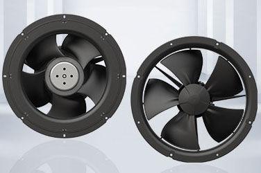 axial fan / compact / energy-saving / EC motor