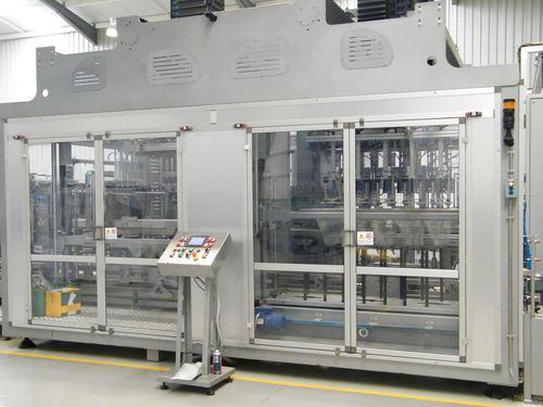 pick-and-place case packer