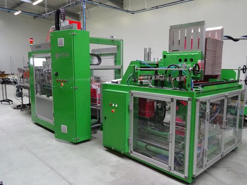 automatic case former-packer-sealer