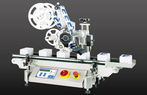 automatic labelling machine / high-speed / top