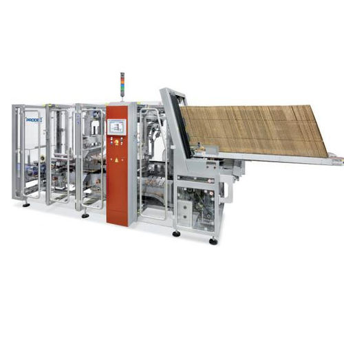 lateral case packer / automatic / flexible packaging