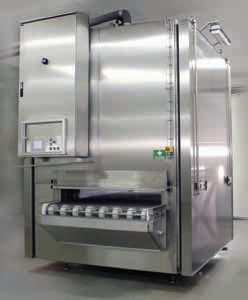 chiller for the food industry