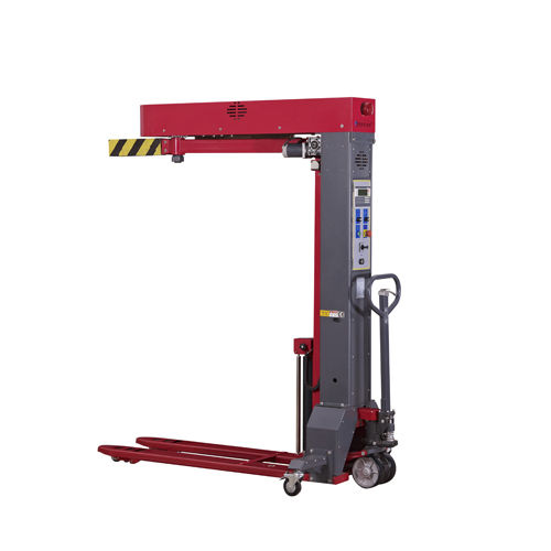 rotary arm stretch wrapper / automatic / pallet / mobile