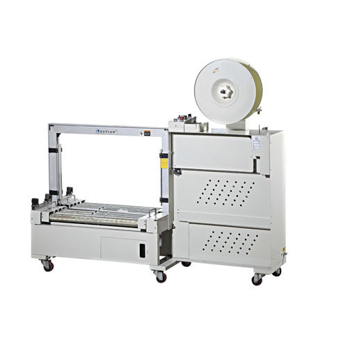 fully-automatic strapping machine / box / mobile / vertical