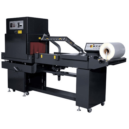 automatic shrink wrapping machine / for food products / with shrink tunnel