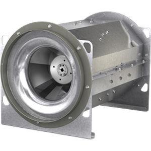 mixed-flow fan / belt-driven / industrial / EC motor