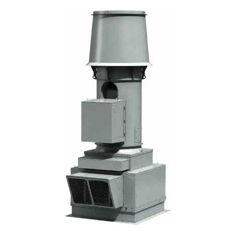 rooftop fan / axial / exhaust / direct-drive