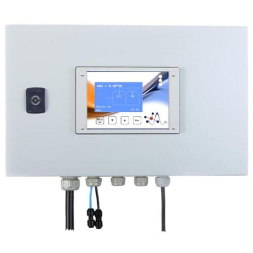 water softener control measuring instrument / water hardness / electronic / digital