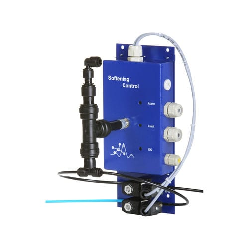 water hardness measuring instrument / digital / electronic / potentiometric