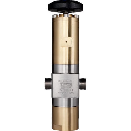 high-pressure valve / globe / manual / for gas