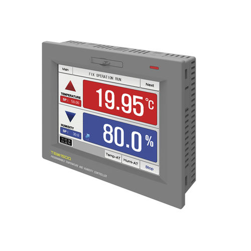 temperature controller with LCD display