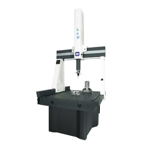 manually-controlled coordinate measuring machine / bridge / multi-sensor / high-precision