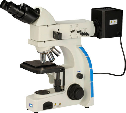 inspection microscope / metallurgical / upright / digital camera