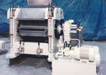 roller mill / horizontal / grain / automatic