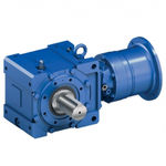 planetary gear reducer / bevel / right-angle / maintenance-free