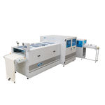 fabric folding machine / electric / automatic