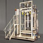 IBC filling system / bulk / fully automatic / weight