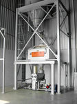 pasta scraps recovery unit with automatic feeder