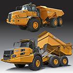 wheeled loader / rigid / large / standard