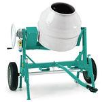 electric concrete mixer / mobile / stand-alone