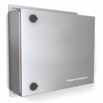 wall-mounted junction box / IP55 / zinc-plated steel / for photovoltaic applications