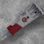 hydraulic rotary hammer
