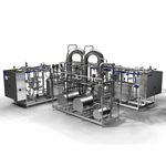 membrane filtration plant / for the food industry / for dairy products