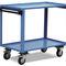 work station cart / steel / 2 levels / 3 levels