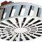 circular air diffuser / ceiling