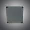 screw cover enclosure / wall-mount / rectangular / painted aluminum