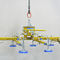 sheet metal vacuum lifting device / electric / horizontal