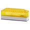 rectangular indicator light / steady / flashing / LED