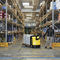 electric pallet truck / handling / vehicle loading / for warehouses