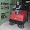ride-on sweeper / gasoline / compact