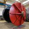straight-toothed gear wheel / steel / shaft