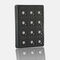 12-key keypad / panel-mount / silicone rubber / for access control